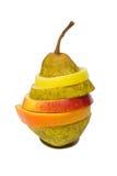 Frutas cortadas Fotografia de Stock