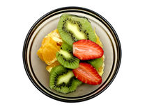 Frutas cortadas III Imagens de Stock