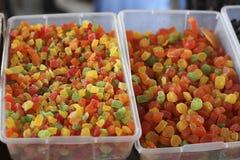 Frutas cristalizadas fotos de stock royalty free
