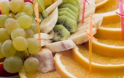 Frutas da estaca foto de stock royalty free