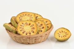Frutas de Bael Marmelos L de Aegle Imágenes de archivo libres de regalías