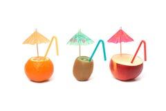 Frutas de Cockteil Imagens de Stock