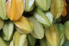 Frutas de estrella Imagenes de archivo