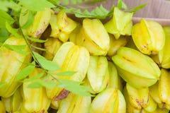 Frutas de estrella Fotografía de archivo libre de regalías
