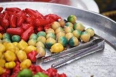Frutas de imitación Deletable Foto de archivo libre de regalías