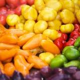 Frutas de imitación Deletable Imagen de archivo libre de regalías