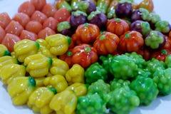 Frutas de imitación Deletable Fotos de archivo