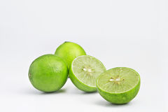 Frutas de la cal Imagenes de archivo