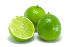 Frutas de la cal imagen de archivo