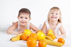 Frutas de la diversión Imagenes de archivo