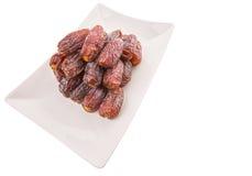 Frutas de la fecha de la palma X Imágenes de archivo libres de regalías