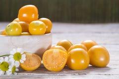 Frutas de la grosella espinosa de cabo Fotografía de archivo libre de regalías