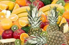 Frutas de la mezcla foto de archivo