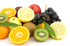 Frutas de la mezcla Fotografía de archivo libre de regalías