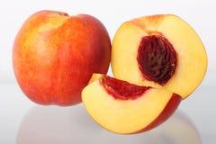 Frutas de la nectarina Fotografía de archivo
