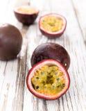 Frutas de la pasión Fotografía de archivo libre de regalías
