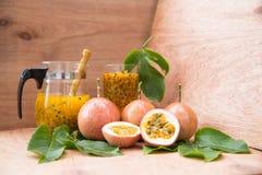 Frutas de la pasión Imagen de archivo libre de regalías