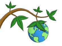 Frutas de la tierra Ilustración del Vector