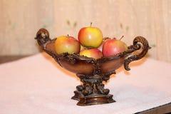 Frutas de las manzanas Fotos de archivo libres de regalías