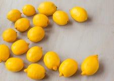 Frutas de limones Imágenes de archivo libres de regalías