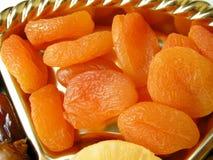 Frutas de los albaricoques secadas Foto de archivo libre de regalías
