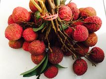 Frutas de Lychee Fotografia de Stock Royalty Free