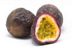 Frutas de paixão imagens de stock