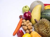 Frutas del asiático de la mezcla imagenes de archivo