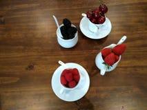 Frutas del bosque Foto de archivo libre de regalías