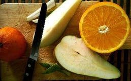 Frutas del corte Foto de archivo
