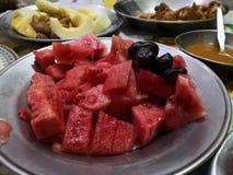 Frutas del kareem del Ramadán fotografía de archivo libre de regalías