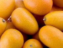 Frutas del kumquat imágenes de archivo libres de regalías