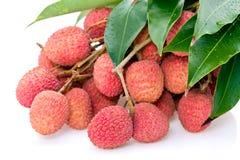 Frutas del lichí Foto de archivo libre de regalías