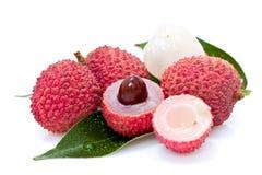 Frutas del lichí Fotos de archivo libres de regalías