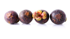 Frutas del mangostán Fotografía de archivo libre de regalías
