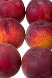 Frutas del melocotón Imágenes de archivo libres de regalías