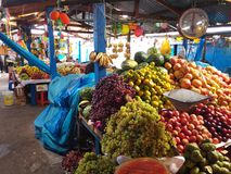 Frutas del mercado Fotografía de archivo libre de regalías