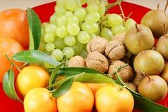 Frutas del otoño Fotos de archivo libres de regalías