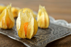 Frutas del Physalis Imagenes de archivo