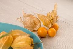 Frutas del Physalis Foto de archivo
