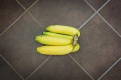 Frutas del plátano de Cavendish Fotografía de archivo