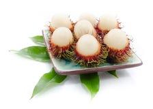 Frutas del Rambutan foto de archivo libre de regalías