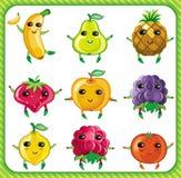 Frutas del vector Imagen de archivo