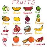 Frutas deliciosas Imagenes de archivo