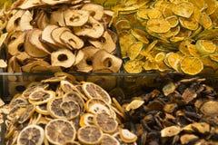 Frutas deliciosas secadas Imagen de archivo libre de regalías