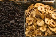 Frutas deliciosas secadas Foto de archivo libre de regalías