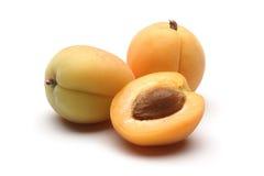 Frutas do alperce imagens de stock