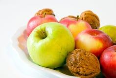 Frutas do outono fotos de stock royalty free