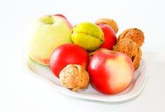 Frutas do outono fotografia de stock
