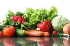 Frutas dos legumes frescos e outros gêneros alimentícios. Imagens de Stock Royalty Free